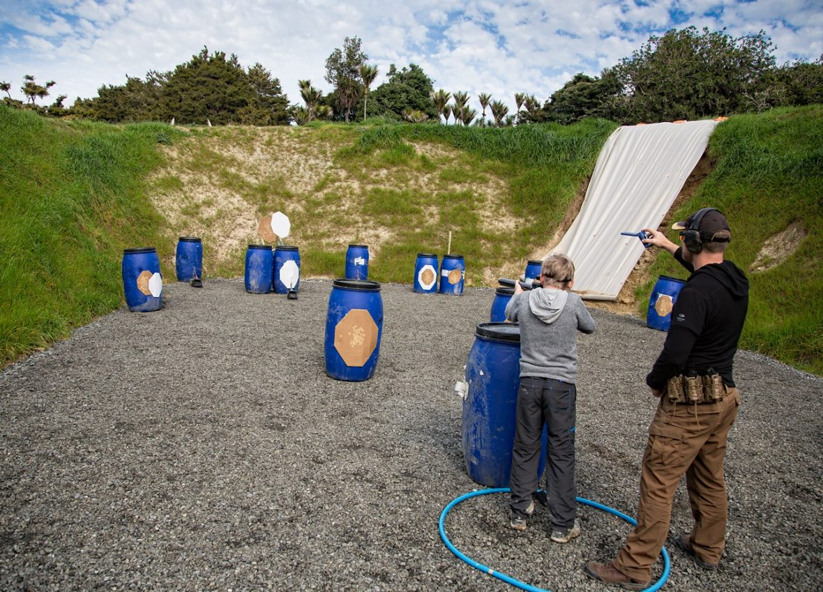 IPSC Mini at the Auckland Shooting Club