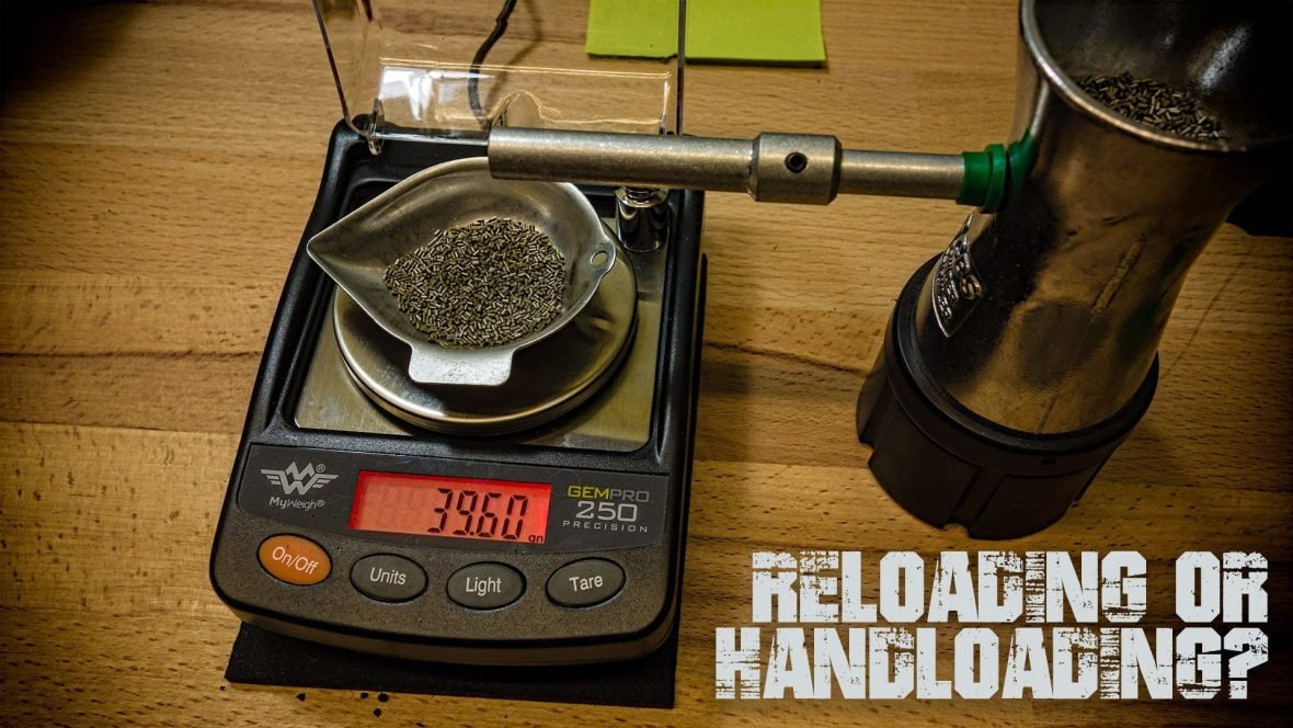 Reloading, Handloading, what's the difference?