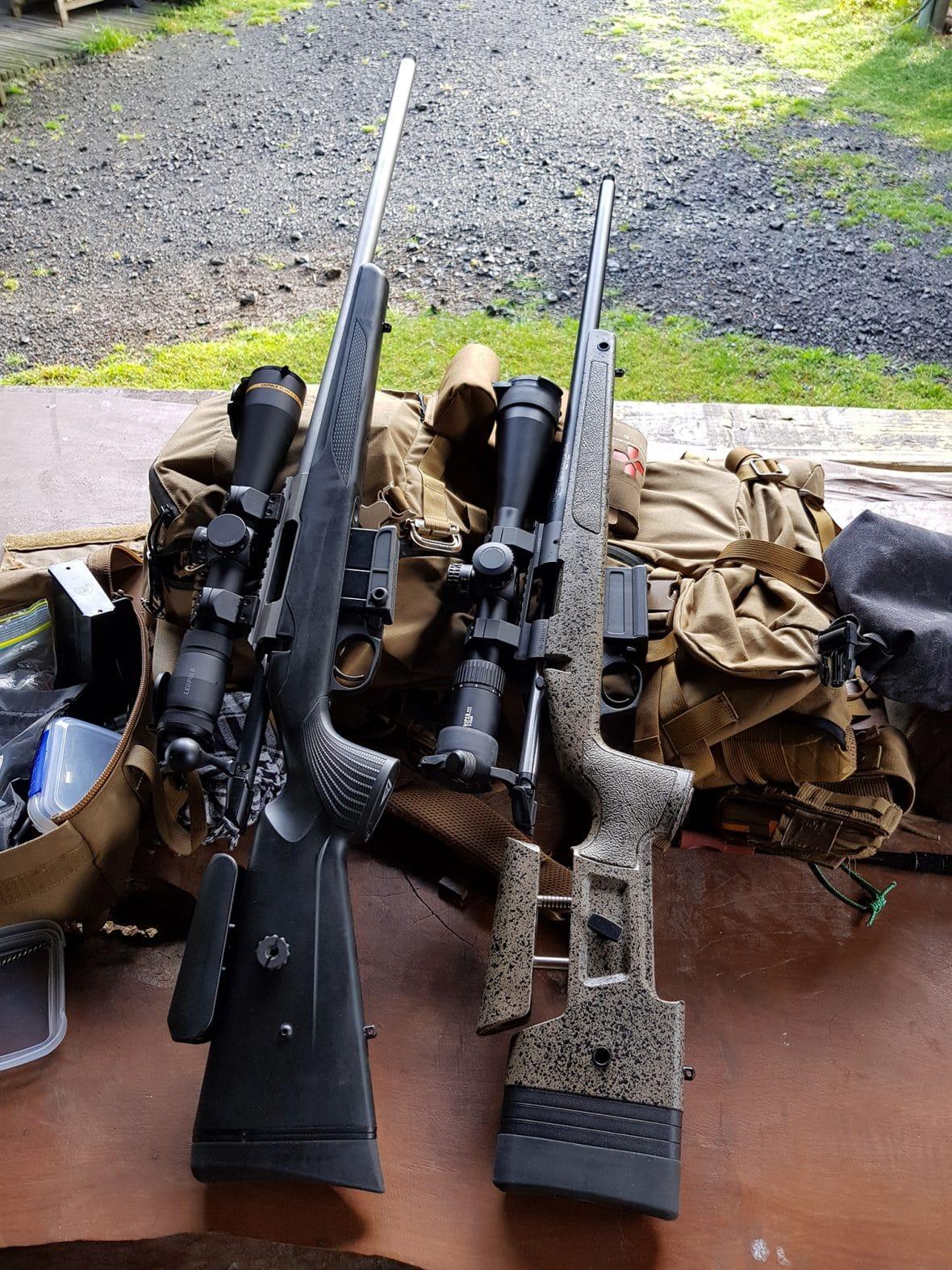The Crossover Rifles – a Tikka CTR and Bergara HMR
