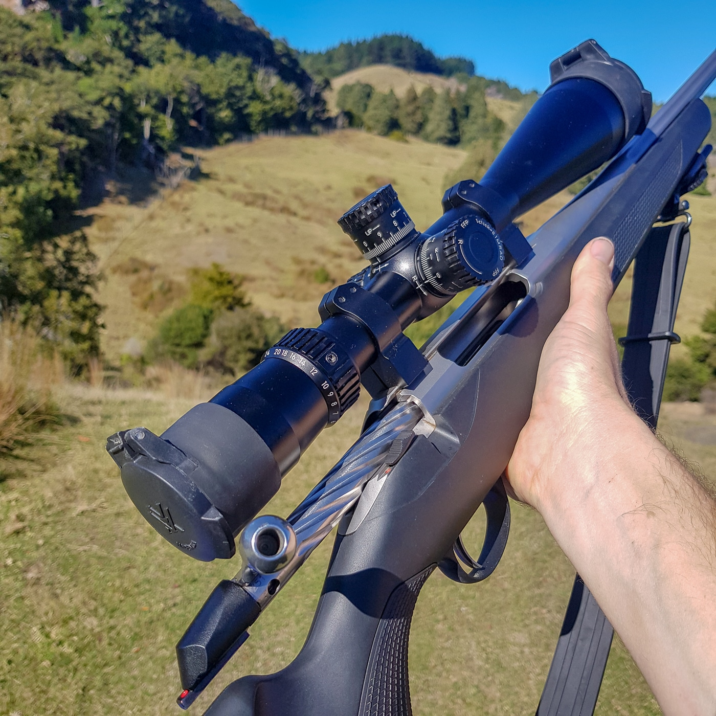 , A rifle setup for a customer…
