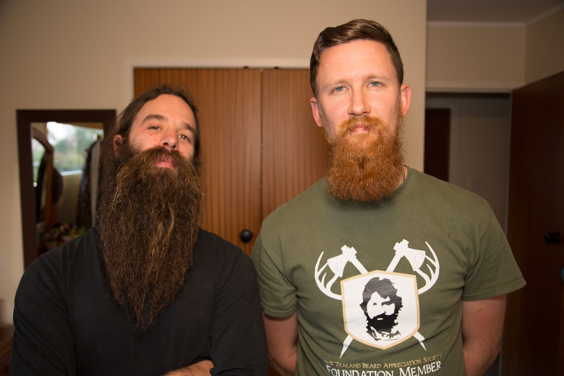 , The Beard is gone. Long live the Beard.