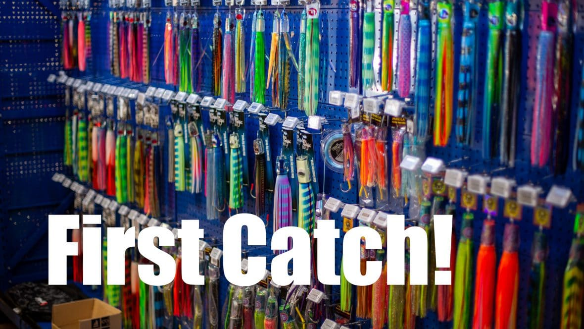 The little girls first catch!