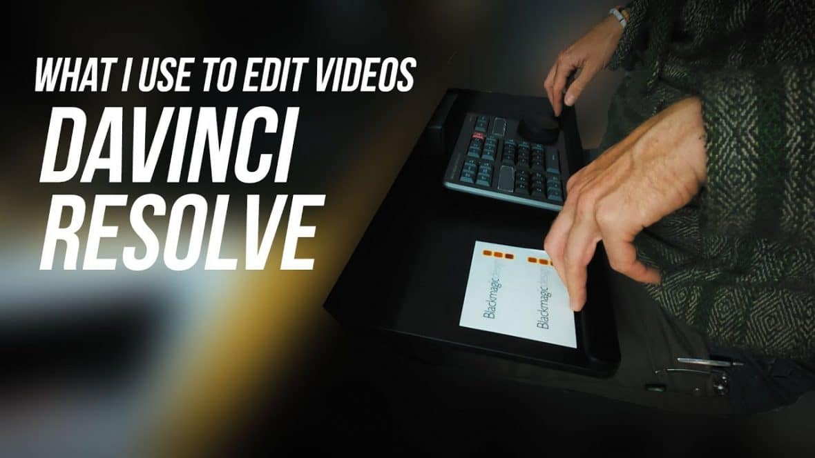 What I use to edit videos (these days)